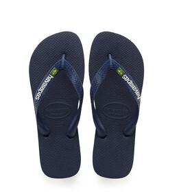 havaianas Brasil Logo Sandals Men blue
